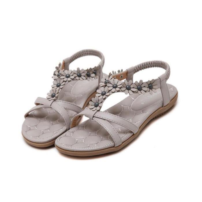 Sandales femme Chaussons Bohême sandales de Plage ®KIANII