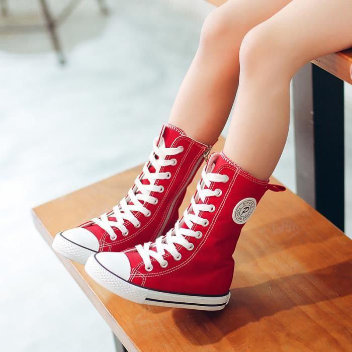 Enfants Chaussures baskets Garçon Jeunes filles Loisirs Toile Chaussures de sport