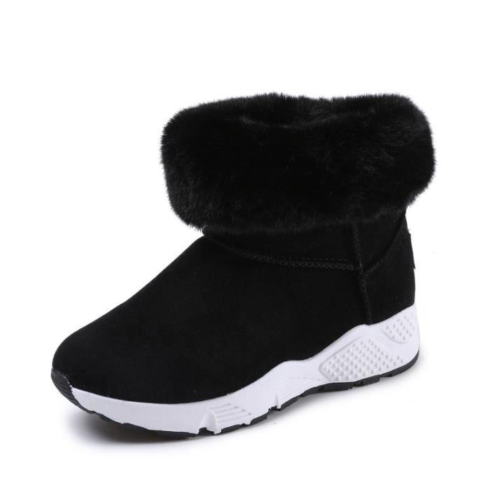 Bottes femmes,Loisirs, chaud, bottes d'hiver, épaissi,Bottes fourrées