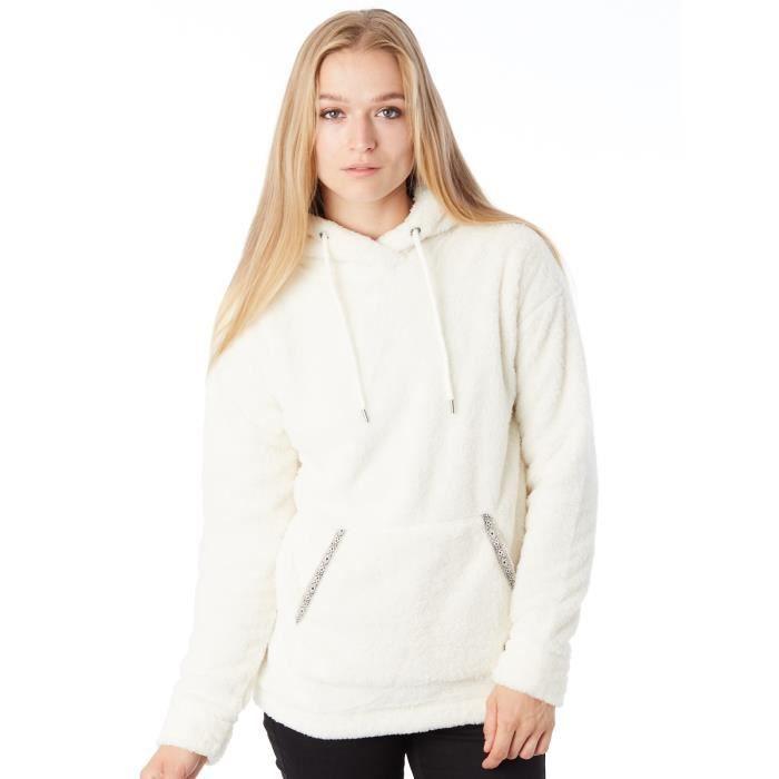 Sweat Femme Roxy Tides À Capuche Changing Polar Fleece Marshmellow 1JTFclK