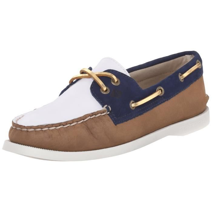 Yeux 38 Bateau Top Sperry Q9gd1 O Sider Chaussures Deux A Taille gXqUp