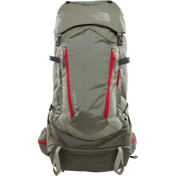 cde1705cf0 The North Face Terra 65 - Sac à dos - rouge/olive - Prix pas cher ...