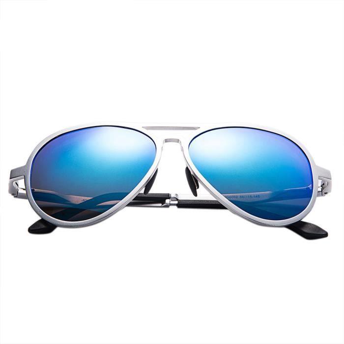 Deuxsuns®Lunettes de soleil aviateur polarisées en plein air lunettes de conduite lunettes lunettes@zf948