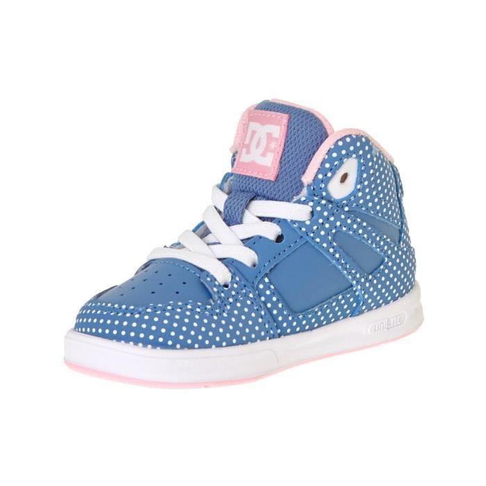 Chaussures pour Bambins DC Rebound - Special Edition Bleu-Blanc Print