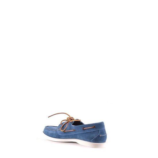 bas prix 59413 ccfd0 DSQUARED2 HOMME MCBI107230O BLEU SUÈDE MOCASSINS Bleu Bleu ...