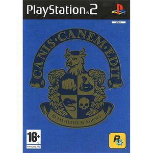 JEU PS2 CANIS CANEM EDIT / jeu console PS2