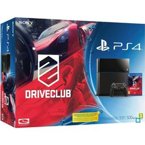 CONSOLE PS4 Pack PS4 500 Go + Jeu DriveClub