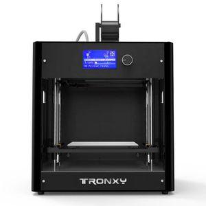 a6c3b9e441e37 Tiges d'axe de Z de haute précision d'imprimante du bureau 3D de Tronxy C5  avec la taille d'impression d'écran d'affichage à cri9
