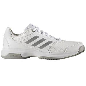 adidas Adizero Attack w - Chaussures de Tennis pour Femme, Blanc, Taille: 40