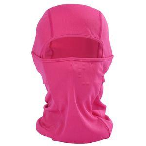 MASQUE DE PROTECTION Cagoule Femme Rose Foncé Masque Anti-poussière Cyc