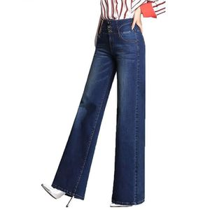 937bc543a7e4f JEANS Jean Femme Bootcut Taille Haute Evasée Jambe Large