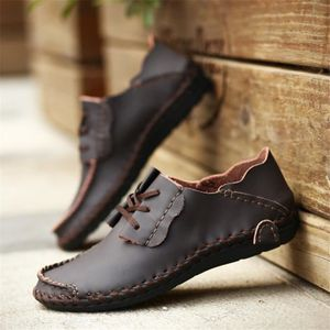 MOCASSIN Chaussures en cuir Homme Chaussures Cool Antidérap
