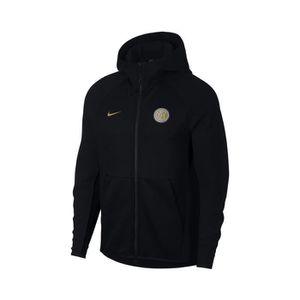 TENUE DE FOOTBALL Veste à capuche Inter Milan Tech Fleece Noir