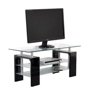 meuble tv 60 cm hauteur achat vente meuble tv 60 cm hauteur pas cher cdiscount. Black Bedroom Furniture Sets. Home Design Ideas