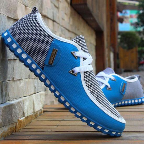 Baskets Advantage Clean Chaussures Homme Bleu Bleu - Achat / Vente basket