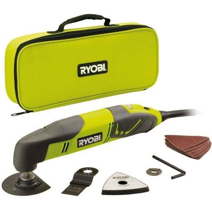 ryobi outil multifonction filaire 200 w achat vente outil multifonctions multitool filaire. Black Bedroom Furniture Sets. Home Design Ideas
