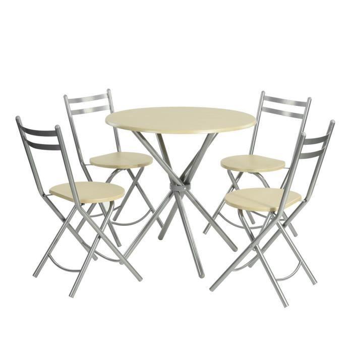 Chaise pliante salle a manger - Achat / Vente pas cher