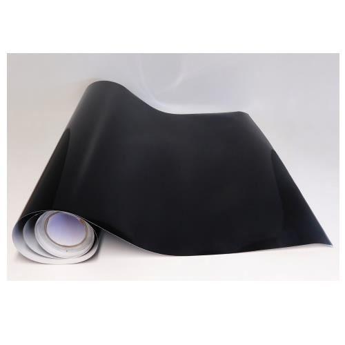 Rouleau Adhesif Noir Brillant 10 M X 123 5 Cm Papier Peint Autocollant Decoration Pose Facile Et Rapide Cuisine Salon
