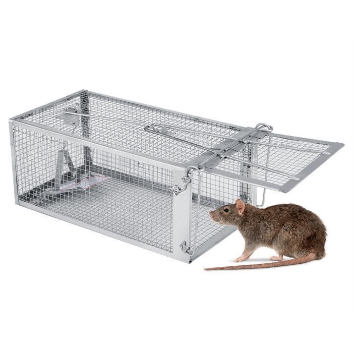 pi ge souris 27 14 12 cm cage pi ge professionnel pour attraper les souris les rats. Black Bedroom Furniture Sets. Home Design Ideas
