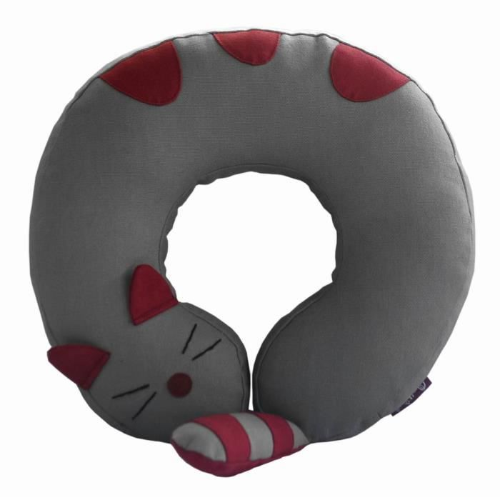 chat-creative-coussin-oreiller-cervical-