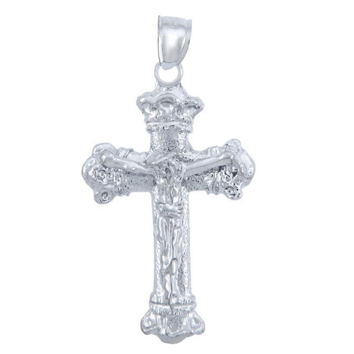 Collier PendentifCollier Pendentif avecCrucifix ArgentThe Enchantment Crucifix (vient avec une Chaîne de 45 cm)