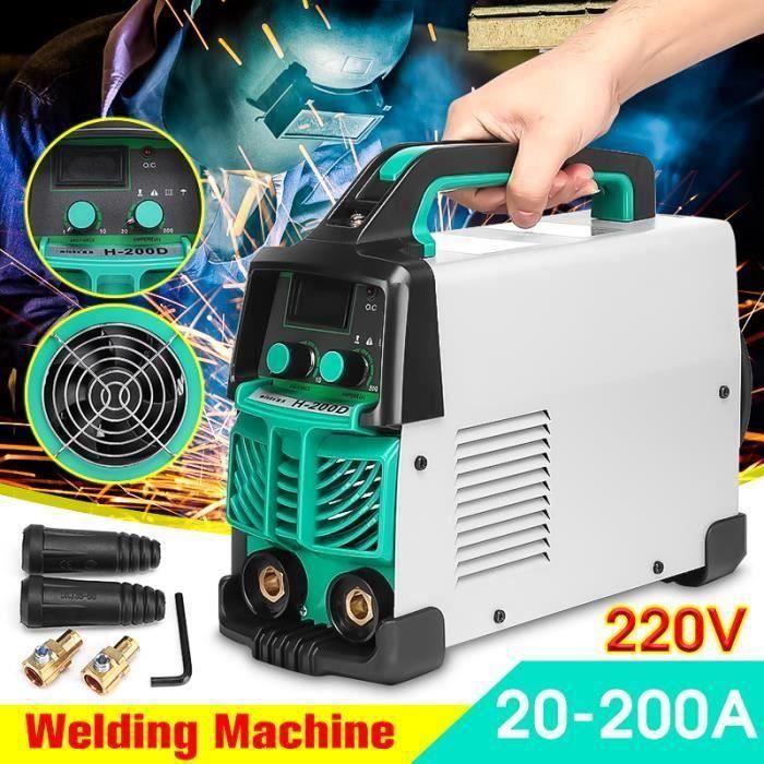 MACHINE MISE SOUS VIDE NEUFU Machine à Souder Electrique ARC-200 Soudeuse