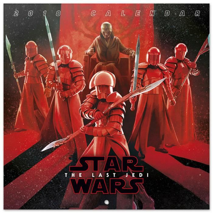 Les films - Page 22 Calendrier-2018-30x30-star-wars-viii