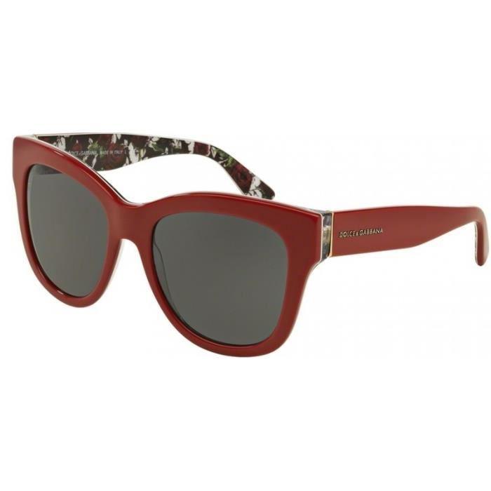 DG Eyewear - Lunette de soleil - Femme Blanc Blanc meilleur cadeau ... 9ed1fa1a4787