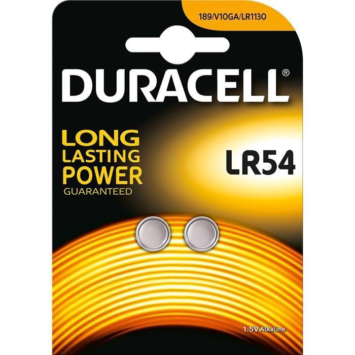 Duracell Lot de 2 piles alcaline LR54 - Achat   Vente piles - Cdiscount f0f04b67f4c9