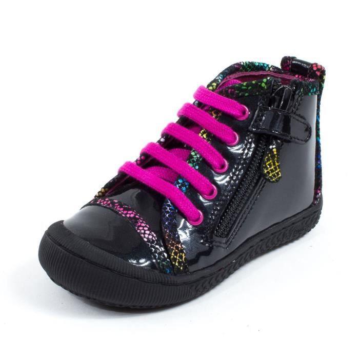 MOD 8 Boots fille noir pas cher STAN