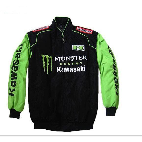 Blouson moto kawasaki pas cher