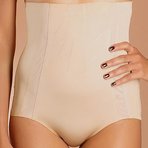 Slip taille très haute Chantelle LIGHT SHAPING nude Nude - Achat ... 3f46fb2ec77