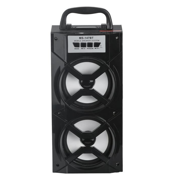 Led Bluetooth Sans Fil Haut-parleur Portable Super Bass Avec Radio Usb - Tf Aux Fm @exq252