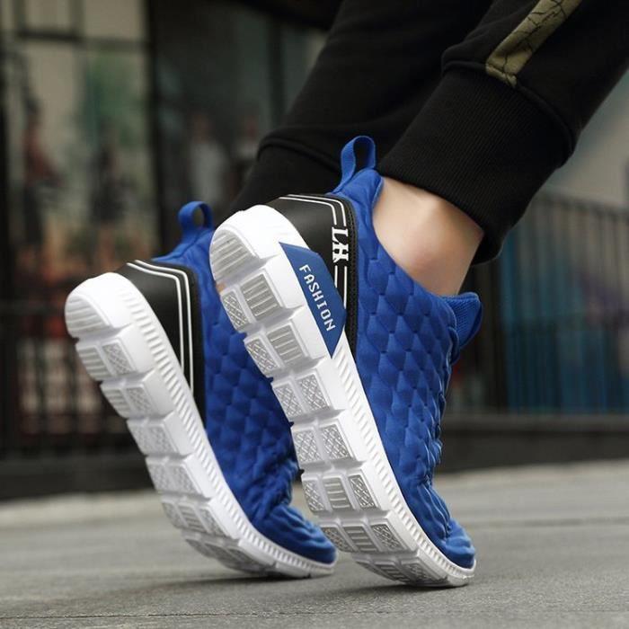 Basket Chaussures de sport pour hommes Chaussures de course légère XKheohV