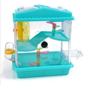 CAGE Maison Cage Caisse de Hamster Cobaye Rougeur Roden