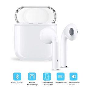 CASQUE AVEC MICROPHONE Bluetooth Casque audio sans fil Oreillettes Casque