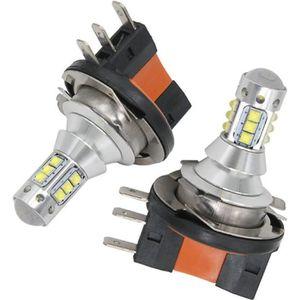 PHARES - OPTIQUES Ampoules LED H15 CREE 6000K Haute puissance