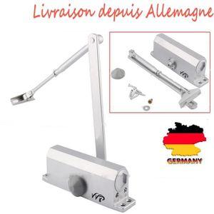 FERME-PORTE - GROOM 60-80KG Ferme-porte Automatique en Alliage d'Alumi