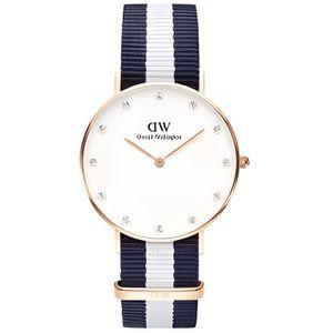 MONTRE Montre Daniel Wellington Glasgow Femme blanc - W09