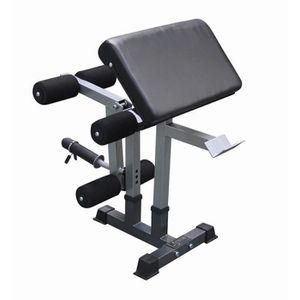 BANC DE MUSCULATION Atelier Leg Extension/Pupitre à Biceps 20681