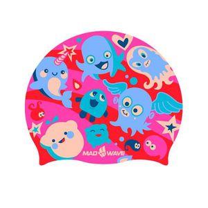 BONNET PISCINE- CAGOULE Bonnets de bain Bonnets de bain enfant Madwave Pla 4861746b87e