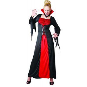 ACCESSOIRE DÉGUISEMENT Déguisement de Vampire Rouge Femme