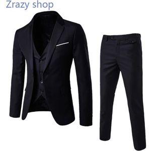 COSTUME - TAILLEUR (Veste+Pantalon)Costume Homme Marque Luxe Veston d 9171f302b58