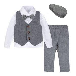 COSTUME - TAILLEUR Vêtements Bébé Garçon Bambin Gentilhomme Manches L