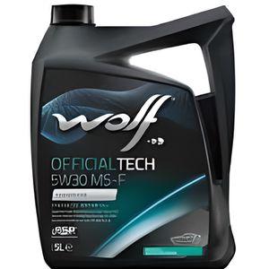 HUILE MOTEUR Bidon 5 litres d'huile 5W30 Wolf 8308819