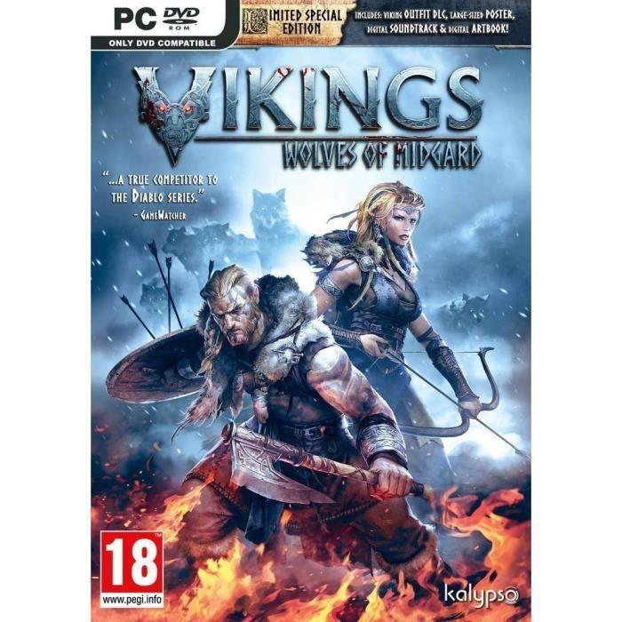 Vikings Wolves of Midgard Jeu PC
