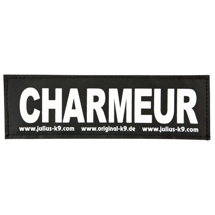 TRIXIE 2 Stickers Velcro Julius-K9 - L - Charmeur - Pour chien