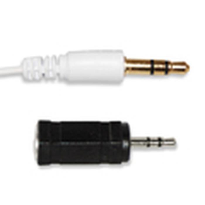 D2 Ecouteurs Intra auriculaire - auriculaire - Jack 3.5 mm stéréo - 1.20 m - Or