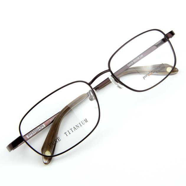 Montures lunettes en titane