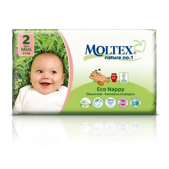 126 Moltex Nature N1 Bear Couches Jetables Et Biodégradables Pour